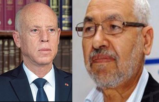 Tunisie- Kais Saied, commandant suprême de toutes les forces armées: Rached Ghannouchi sort enfin de son silence