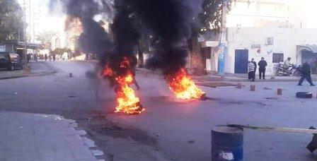 Tunisie – Affrontements entre la police et des protestataires à Sbeitla