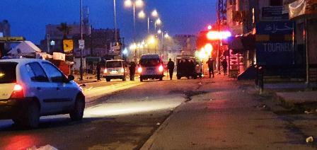 Tunisie – IMAGES: Çà recommence à la Cité Ettadhamen