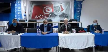 Tunisie – Ghannouchi supervise en personne la mobilisation pour la manifestation du samedi