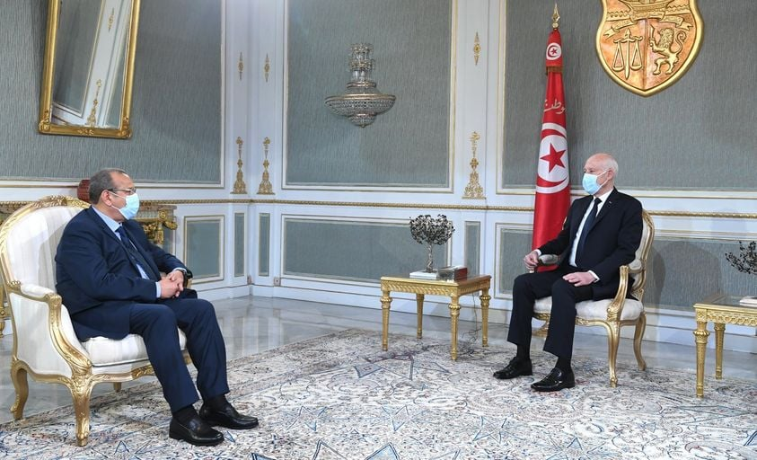 Tunisie: Rencontre entre Samir Majoul et les trois têtes du pouvoir [Photos]