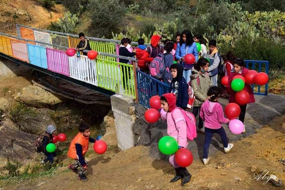 Tunisie-Jendouba : Inauguration du pont métallique de Béni Mohamed [Audio + Photos]