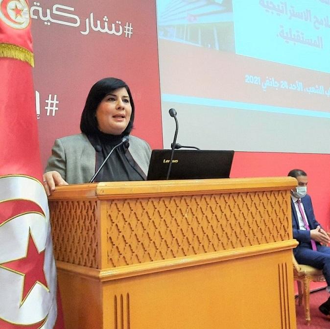 Tunisie: Abir Moussi expulsée d'une réunion du bureau de l'ARP par Rached Ghannouchi