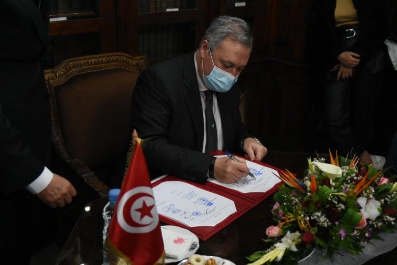 Tunisie-Ministère des finances : Signature d'un accord de prêt de 465 millions de dollars pour financer le budget de l'Etat [Photos]