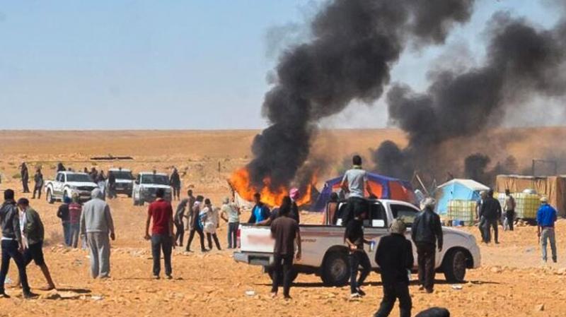Tunisie-Événements Ain Skhouna: Les familles des personnes arrêtées protestent