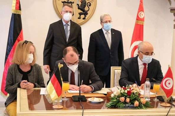 Tunisie: Un don allemand de 25 millions d'euros pour soutenir les petites entreprises