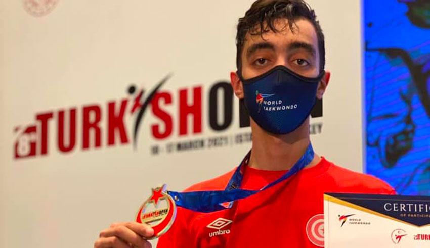 Taekwondo : Khaliljendoubimédaillé d'or en Turquie