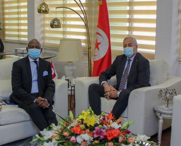 Transition Digitale: Le ministre des Technologies de la Communication rencontre l'ambassadeur d'Afrique du Sud en Tunisie