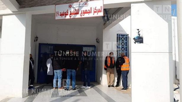 Tunisie: En images, opération blanche sur la vaccination contre le coronavirus à Siliana