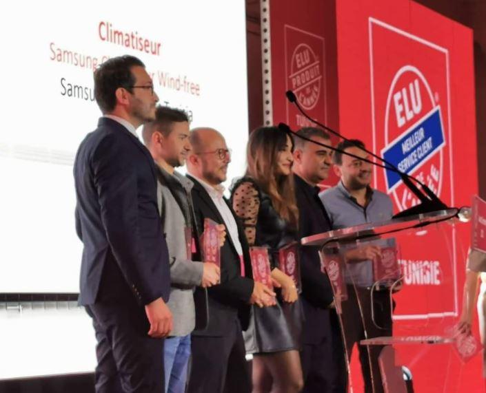 Samsung Electronics Tunisie rafle 6 prix pour cette année dontélu « Produit de l'année 2021 » et « Meilleur service client de l'année 2021 » !