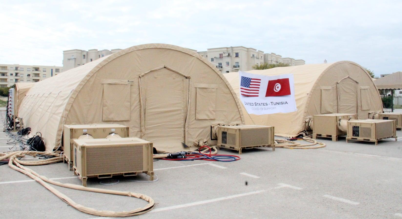 Tunisie: Un don américain au profit de l'hôpital Mongi Slim [Photos]
