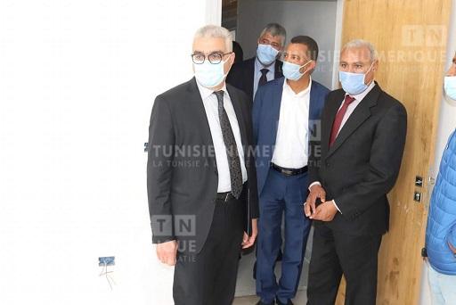 Tunisie: En images, visite du ministre de l'Education à Jendouba