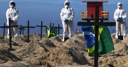 Brésil: Le covid responsable du décès de 2060 enfants dont 1300 nourrissons