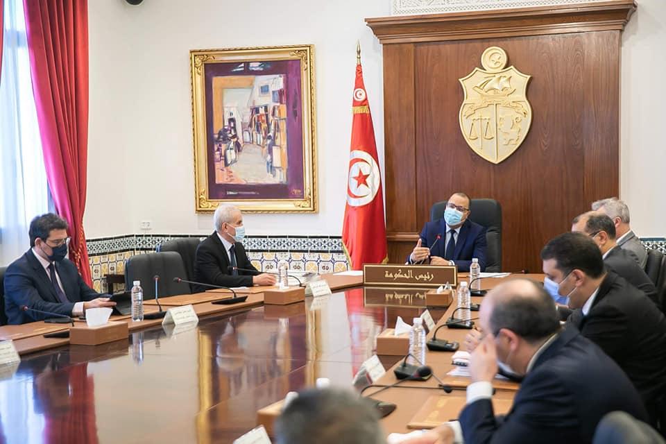 Tunisie : Hichem Mechichi préside un Conseil ministériel
