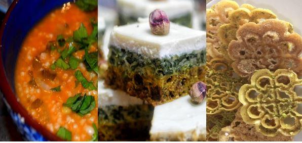 Idée menu Ramadan : Soupe de blé concassé (Chorba frik), Tajine el bey, Chbebek el jena