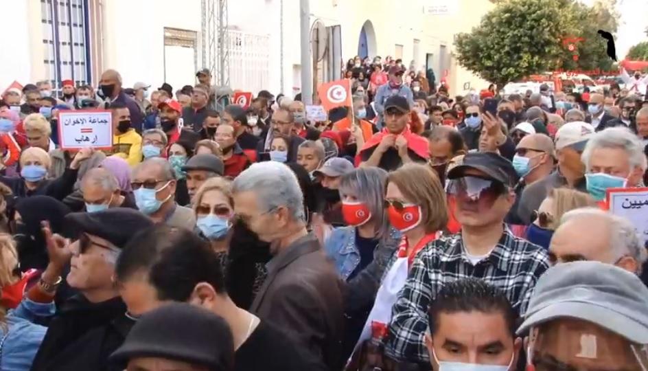 Tunisie- PDL: Manifestation contre les pratiques condamnables d'Ennahdha