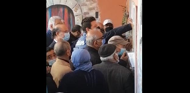 Tunisie – VIDEO: L'organisation qu'ils prétendent exemplaire au centre de vaccination de La Marsa