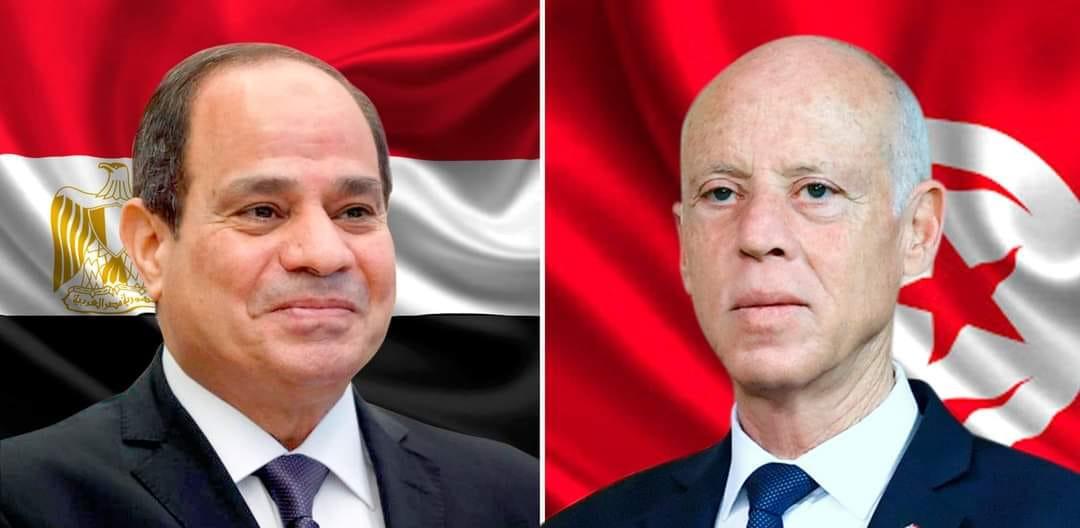 Tunisie: kais Saied présente ses condoléances à son homologue égyptien