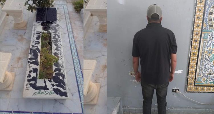 Tunisie-Arrestation de l'homme qui a vandalisé la tombe de son proche