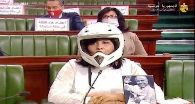 Tunisie: Ils ont ri du geste d'Abir Moussi parce qu'ils avaient peur d'affronter la réalité qu'elle dévoile