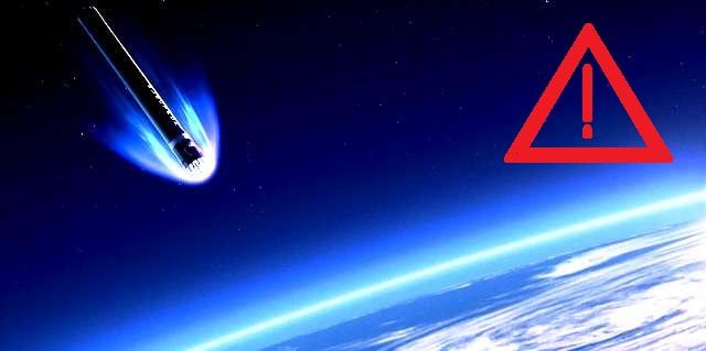 Une nouvelle fusée hors de contrôle va s'abattre sur la terre!