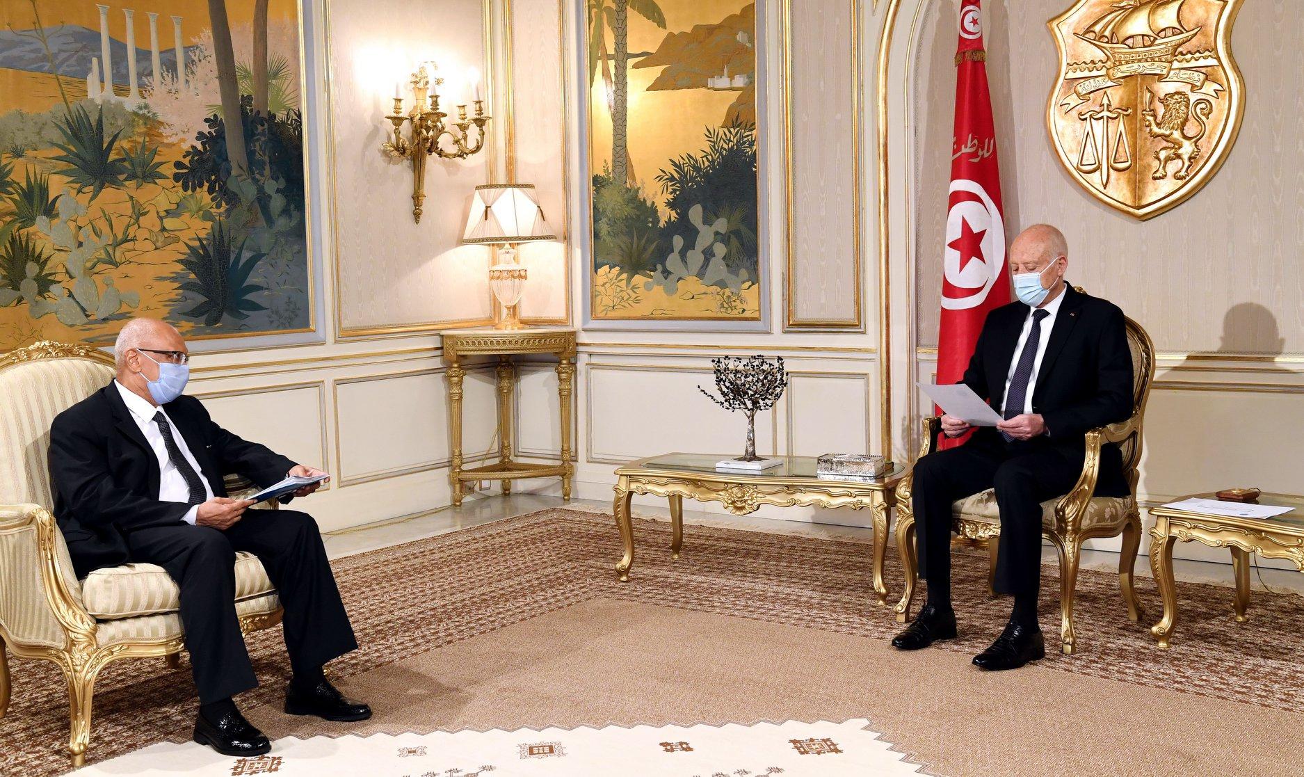 Tunisie: Kais Saied reçoit le ministre malien des Affaires Etrangères