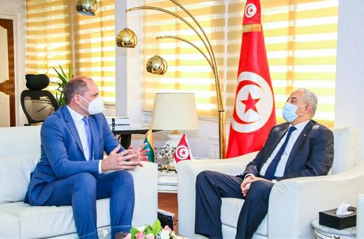 Tunisie: Le Ministre des Technologies de la Communication rencontre l'Ambassadeur de Lituanie en Tunisie