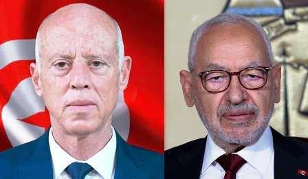 Tunisie: Entretien téléphonique entre Rached Ghannouchi et Kaïs Saïed
