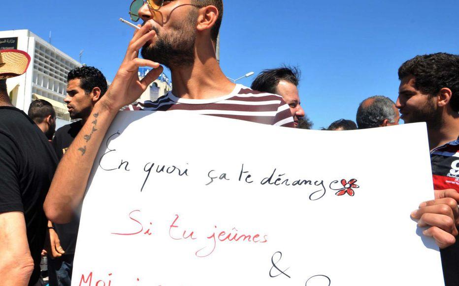 Ephéméride – 11 juin 2017 : Manifestation de soutien à Tunis à des non-jeûneurs condamnés à un mois de prison