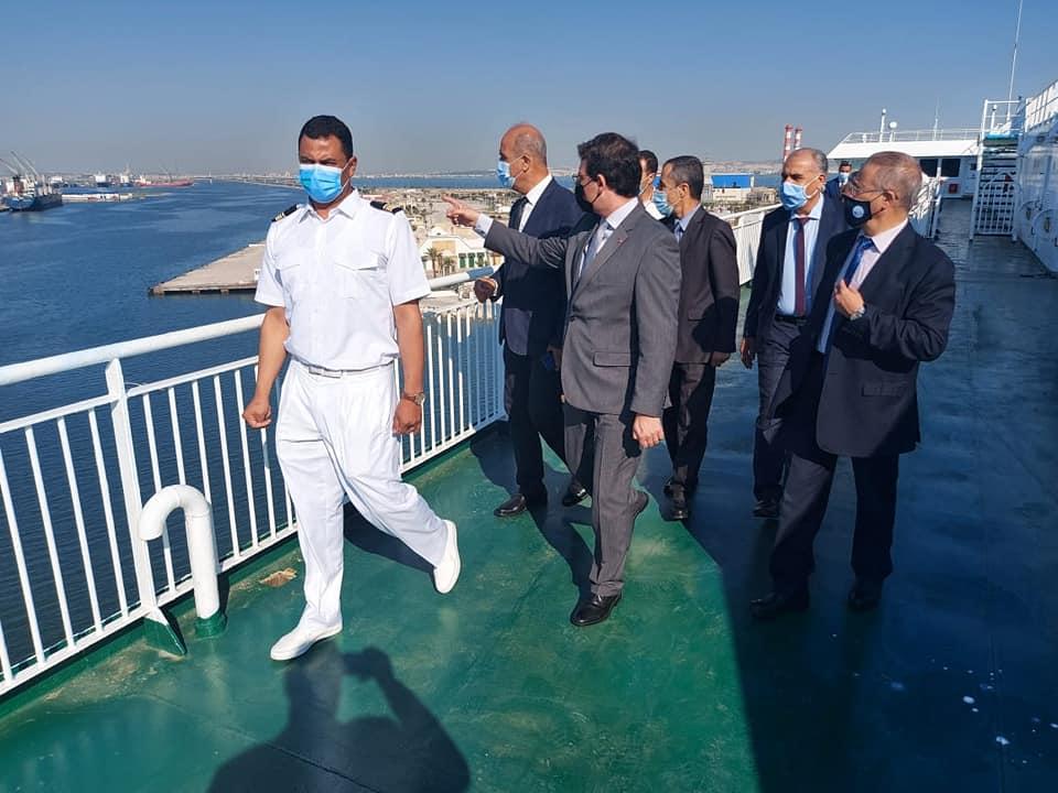 """Tunisie- Le navire """"Carthage"""" effectue le premier voyage de cette saison"""