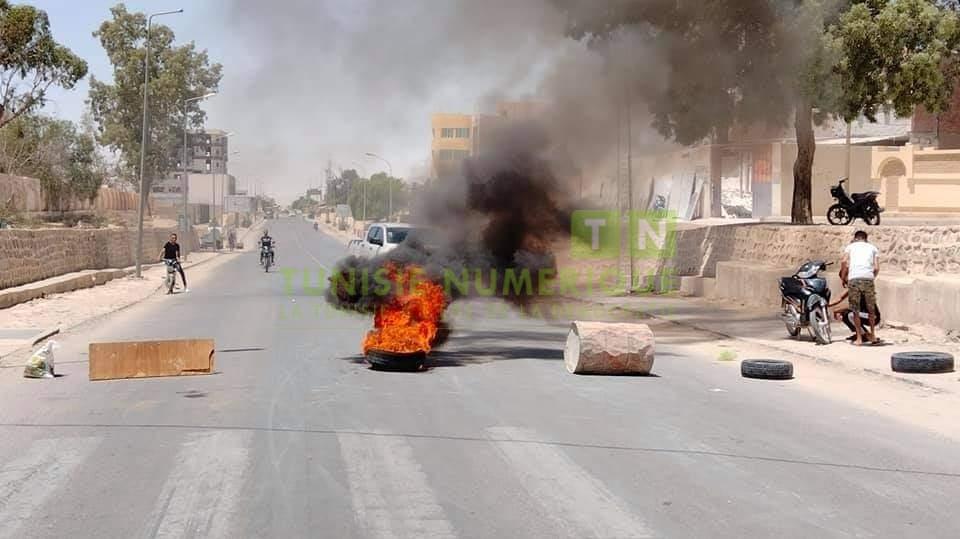 Tunisie-Gafsa: Les coupures d'eau potable suscitent la colère des habitants de Métlaoui [Photos]