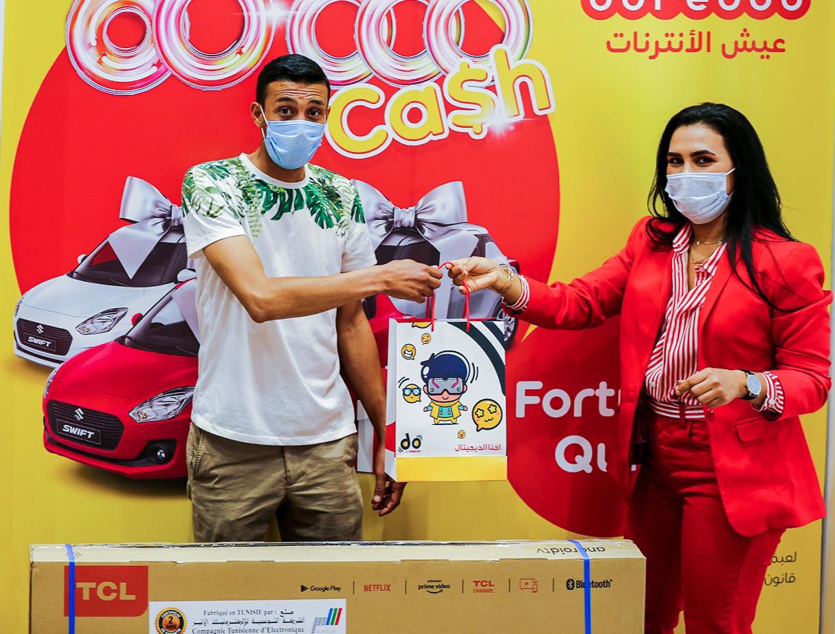 Ooredoo récompense les premiers gagnants du jeu Fortuna Quiz