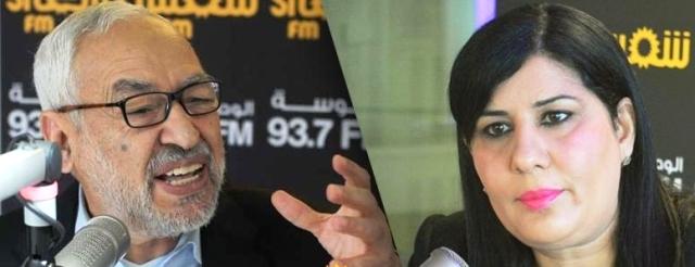 Tunisie – Ennahdha appelle le parquet à «réagir» face au comportement d'Abir Moussi