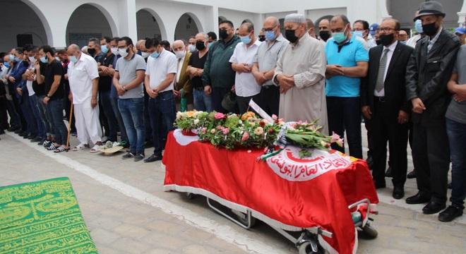 Tunisie-Funérailles de Abdessalem Jrad