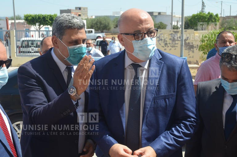 Exclusif: Faouzi Mehdi en visite inopinée à Béja