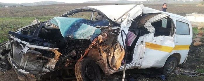Tunisie – Mahdia: Décès de tous les occupants d'une voiture de louage