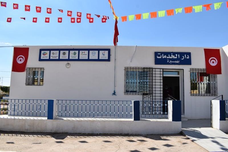 Mahdia[PHOTOS] : Inauguration de la Maison de services à Hebira