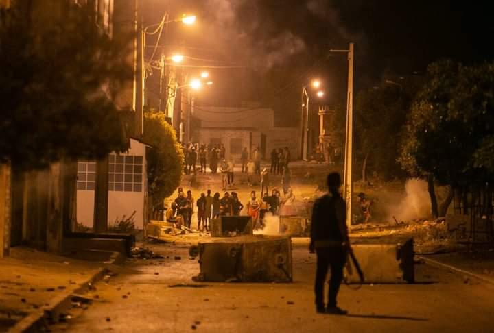 Sidi Hassine: Reprise des affrontements nocturnes