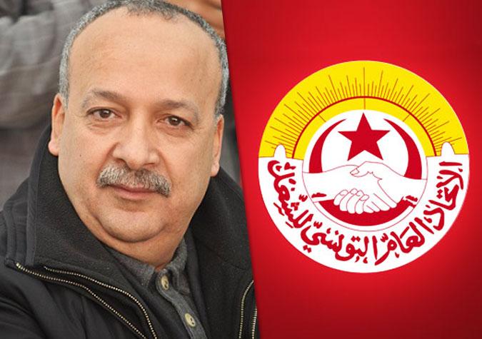 Tunisie-Sami Tahri: L'UGTT présentera une feuille de route après la formation du gouvernement
