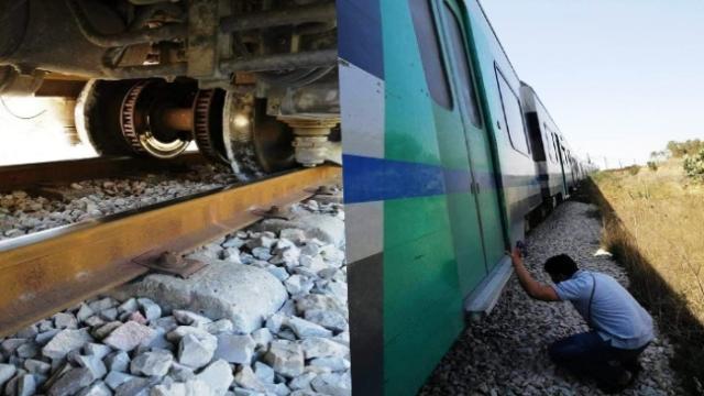Tunisie – Déraillement d'un train de la banlieue sud