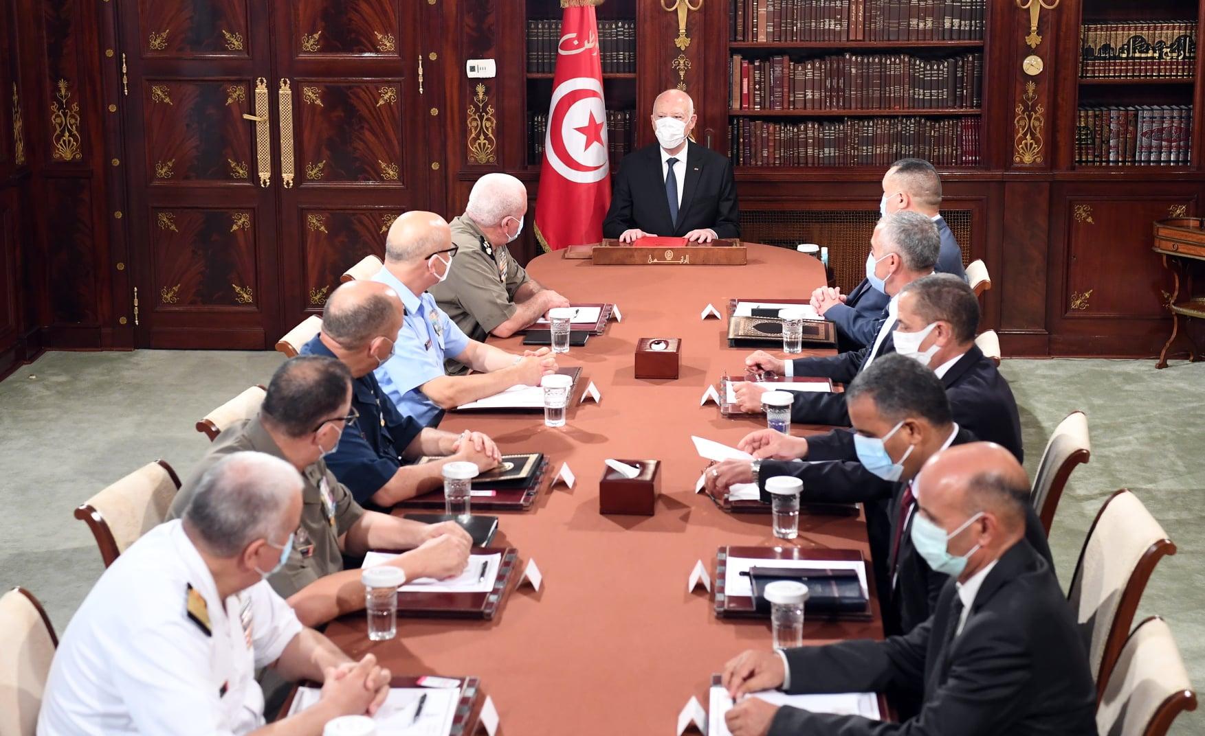 Tunisie: Kais Saied préside une réunion du Conseil suprême des Forces armées