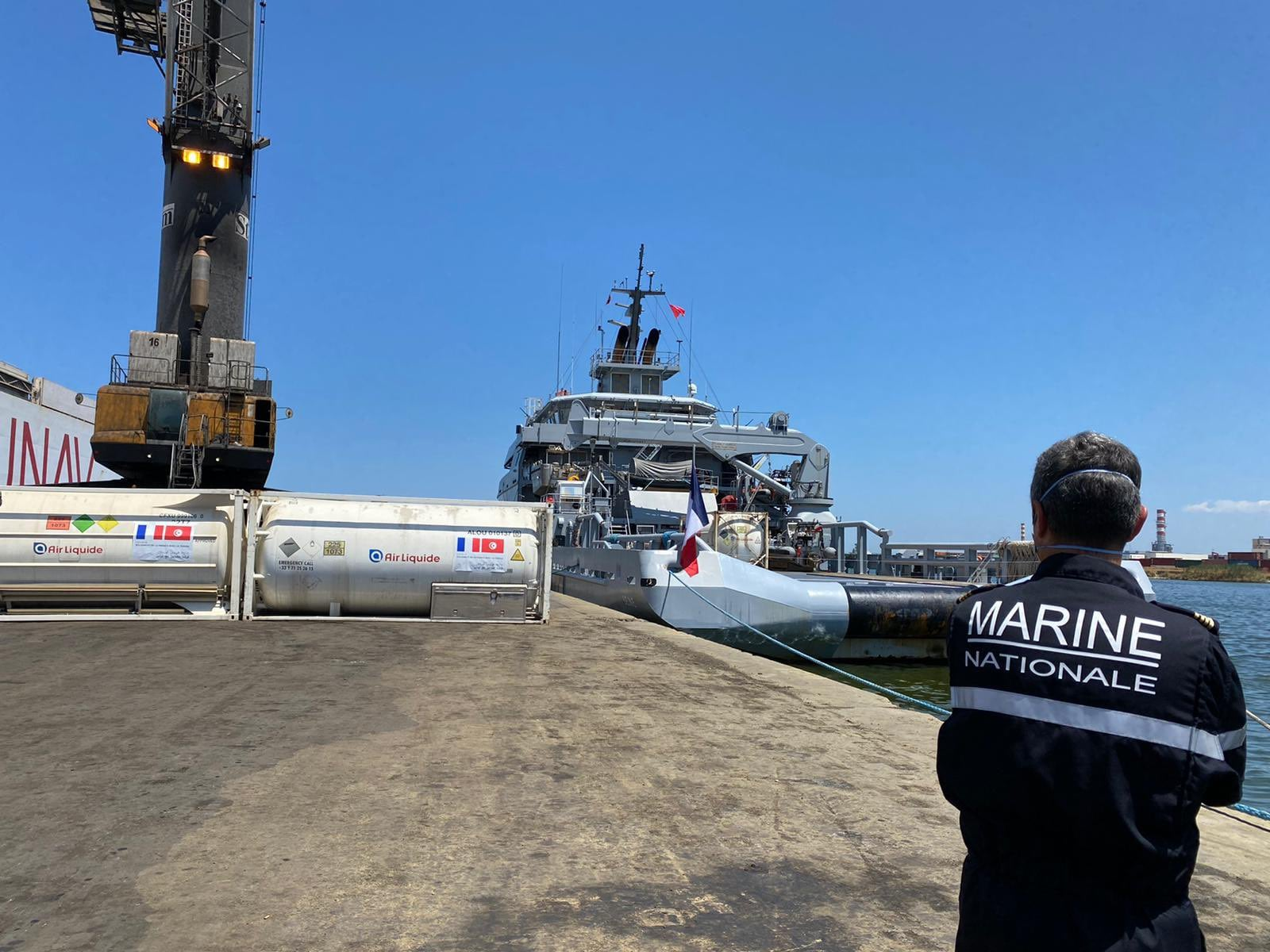 Tunisie-France: Réception de de 60 000 litres d'oxygène