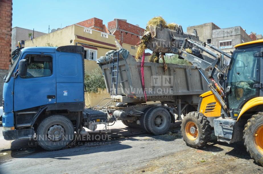 Beja [PHOTOS] : Levée de 175 tonnes de déchets du premier jour de Aïd Al-Adha