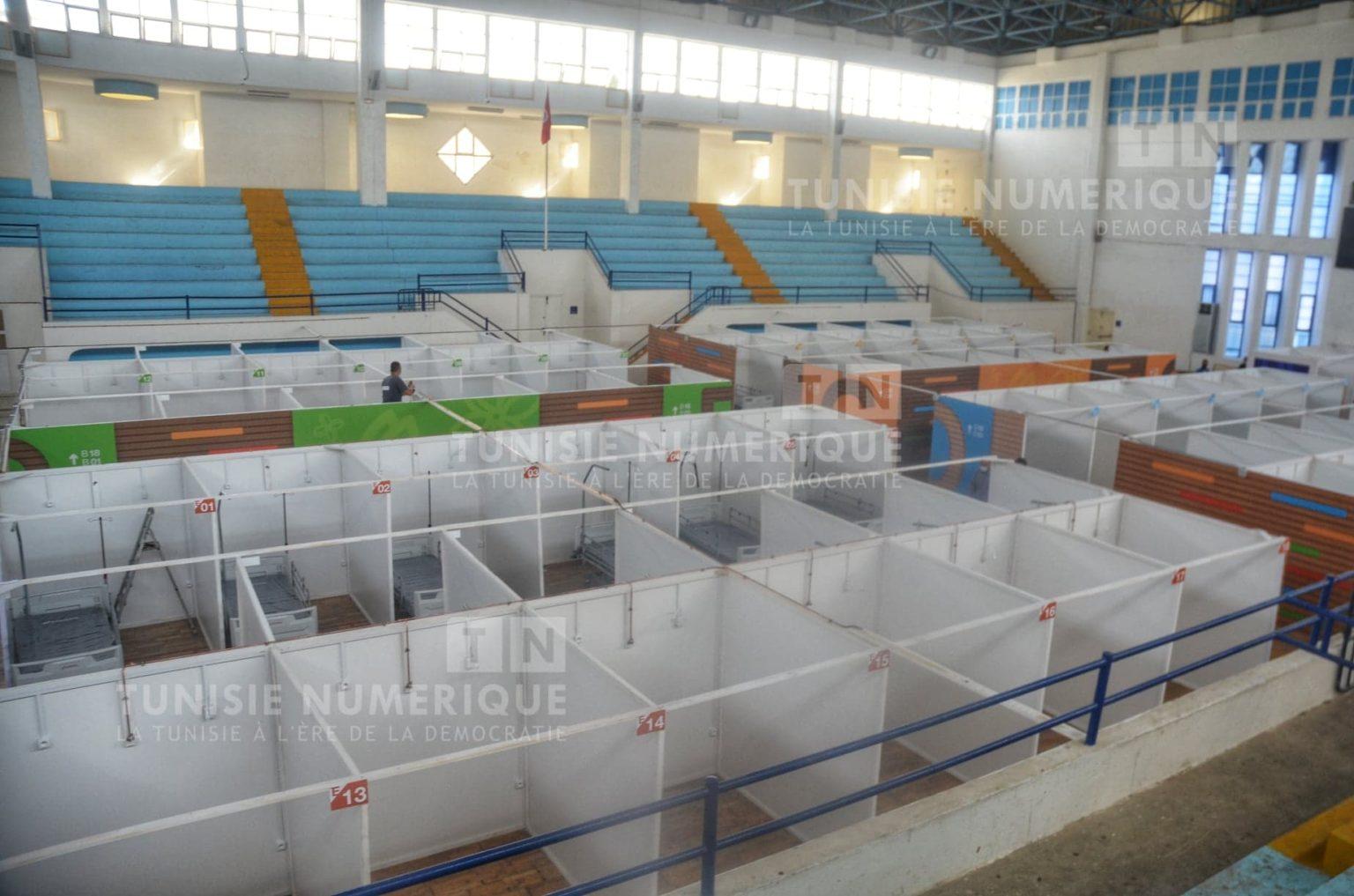 Béja: L'hôpital de campagne n'est toujours pas opérationnel malgré la flambée de contaminations