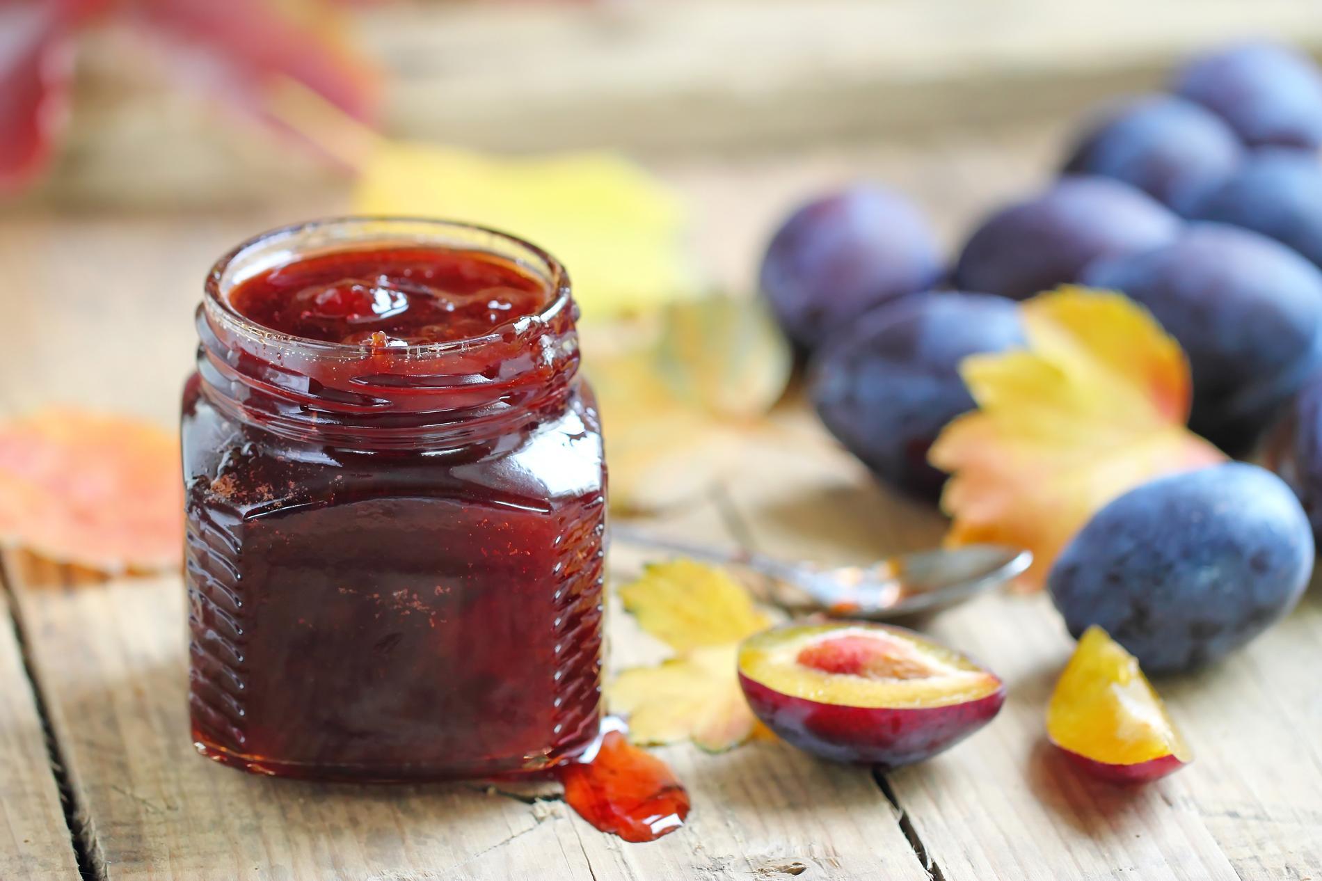 Recette : Confiture de prunes