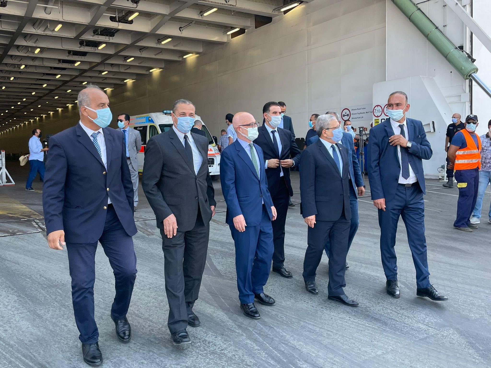 Coronavirus-Amitié Tuniso-Italienne: Réception d'équipements médicaux [Photos]