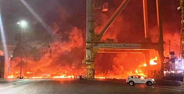 DERNIERE MINUTE: Forte explosion à Dubaï
