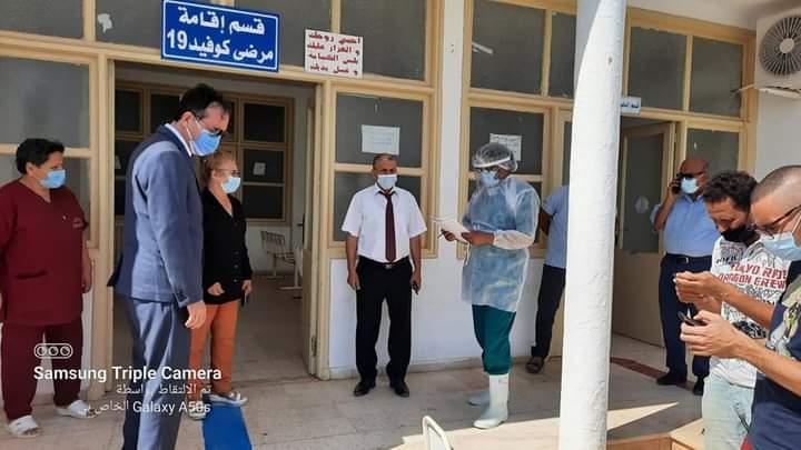 Mahdia-Dons médicaux : Le Gouverneur accorde à l'hôpital d'El-Jem deux machines à oxygène