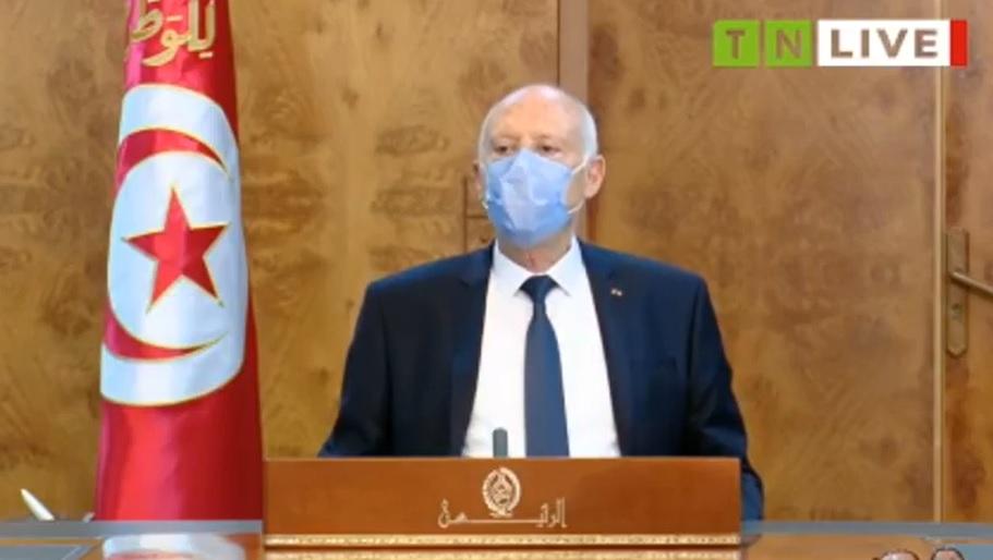 URGENT-Tunisie : Kais Saied tient une réunion urgente avec Hichem Mechichi et des ministres
