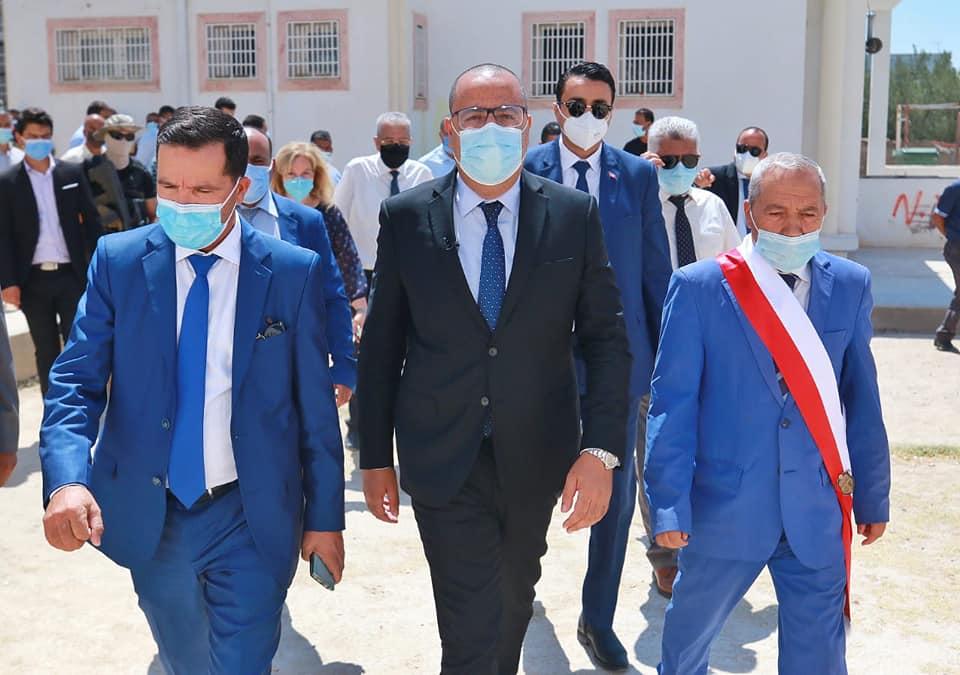 Visite à Zaghouan [PHOTOS]- Mechichi : « La vaccination de tous les Tunisiens est une priorité »
